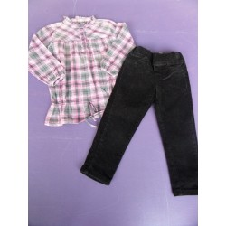 Ensemble Kiss Melody fille 3-4 ans