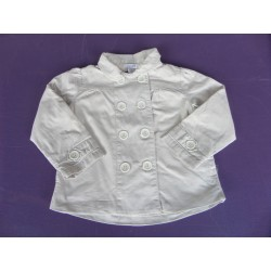 Trench Soft Grey fille 3 ans