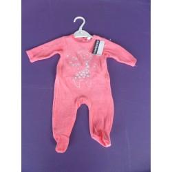 Neuf ! Pyjama velours fille 1 mois