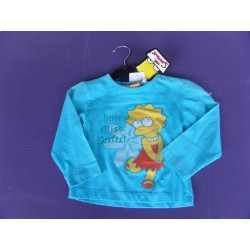Neuf ! T-shirt imprimé Simpson fille 2 ans