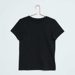 Neuf ! Tee-shirt uni noir b.a-basic taille 8 ans