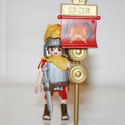 Playmobil - légionaire romain avec tête de tigre
