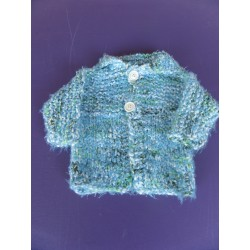 Cardigan maille effilée fille 6 mois