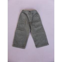 Pantalon lin et coton Kidkanai garçon 18 mois
