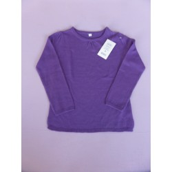 Neuf ! Pull fin violet 6 ans