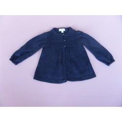 Cardigan fille bleu marine 3-6 mois
