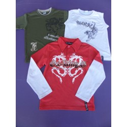 Lot tee-shirts/polo Ox King 8 ans