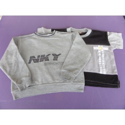 Sweat sport + tee-shirt sport 6 ans