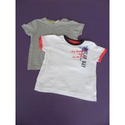 Lot de t.shirts avec Orchestra 18 mois