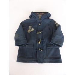 Caban à capuche drap de laine Sergent Major 4 ans