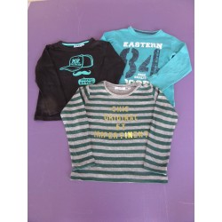 Lot de 3 tee-shirts manches longues Marese/NKY 5 ans