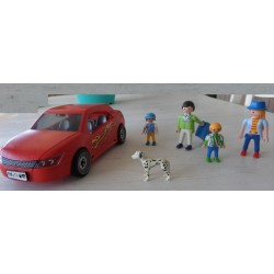 Playmobil - famille voiture