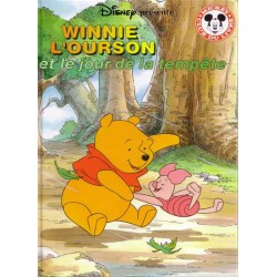 Winnie l'ourson et le jour de la tempête Club Mickey du Livre