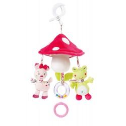 Mini Mobile Musical Champignon BabySun Les Coquettes