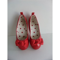Ballerines vernies rouges pointure 26