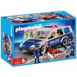Playmobil - 4260 - Jeu de construction - Voiture de police et patrouille