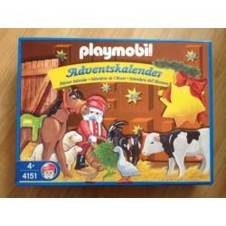 Playmobil  calendrier de l'avant 4151