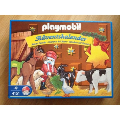 Playmobil Calendrier.Playmobil Calendrier De L Avant 4151 Caillou Flacoti