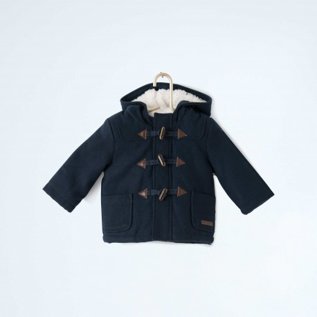 Manteau duffle-coat à capuche 1 an