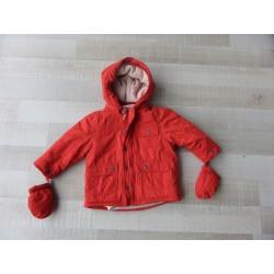 Parka avec veste intérieur amovible Verbaudet fille 2 ans