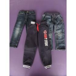Lot jeans + pantalon sport Orchestra 3 ans