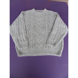 Pull maille Torsadé Brice taille 3