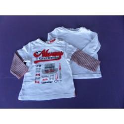 Lot 2 t.shirts Prémaman/Orchestra 6 mois