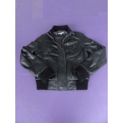 Blouson imitation cuir 3 Suisses Collection taille 38