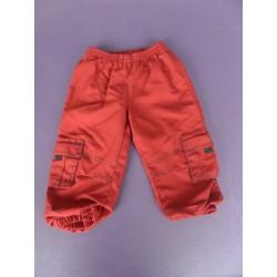 Pantalon sport microfibré rouge 2 ans