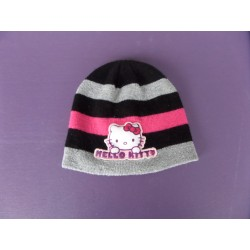 Bonnet maille Hello Kitty 2-6 ans