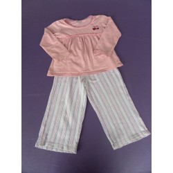 Pyjama fille jersey 2 pièces 3 ans