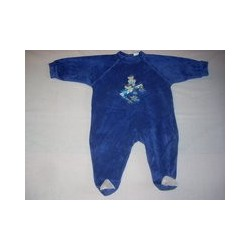Pyjama velours Babar 1 an