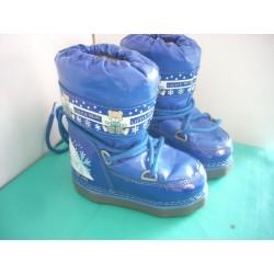 Bottes de neige bleues T25-26