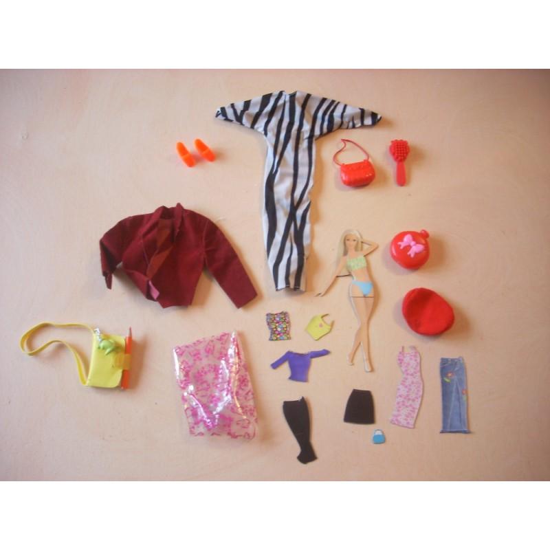 barbie fashion et accessoires caillou flacoti. Black Bedroom Furniture Sets. Home Design Ideas