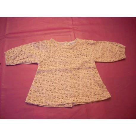 """Tee-shirt fille 1 mois """"Petit Kimbaloo"""""""