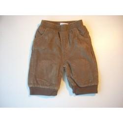 Pantalon velours doublé 3 mois