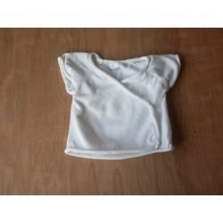 Cardigan en maille blanc 3 mois