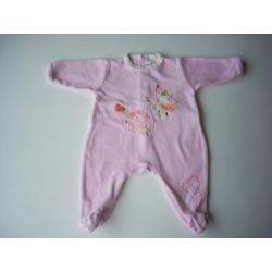 Pyjama rose velours 3M