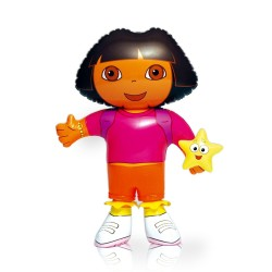 Personnage gonflable Dora