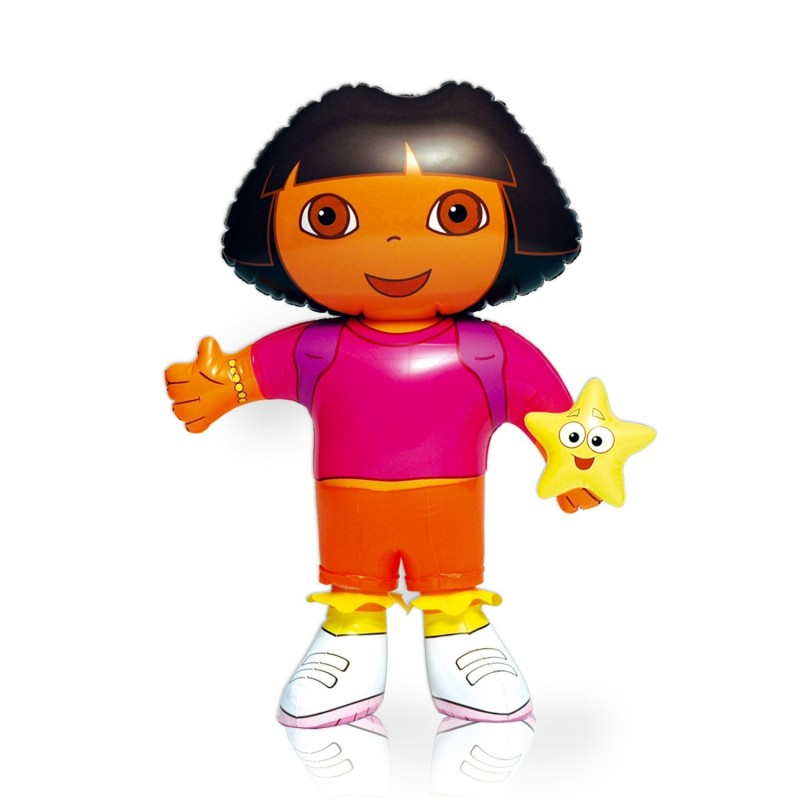 Personnage gonflable dora caillou flacoti - Personnage dora ...