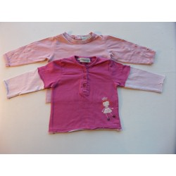 Lot tee-shirts fille 1 an