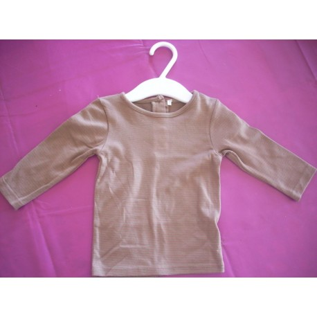 Tee-shirt manches longues fille 6 mois