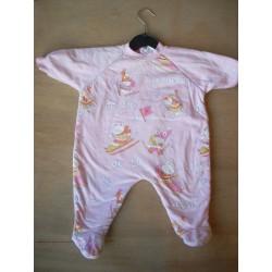 Pyjama molletonné fille 6M