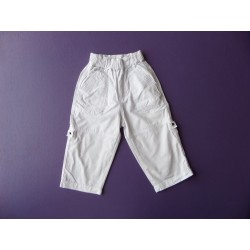 Pantalon blanc fille 1 an