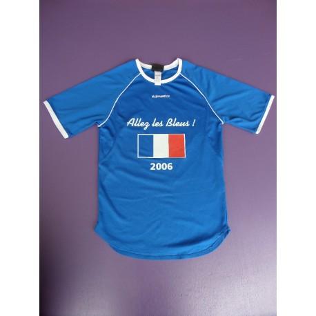 Maillot Kispta Allez les Bleus 10 ans