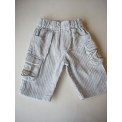 Pantalon velours grosses côtes 3 mois