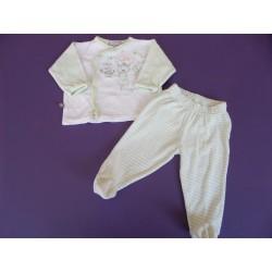 Pyjama 2 pièces velours 6 mois