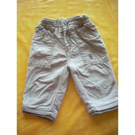 Pantalon molletonné Obaibi 6 mois