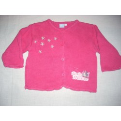 Cardigan fuchsia Disney Baby 6 mois