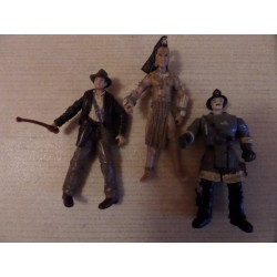 Lot de figurines Indiana Jones 10cm
